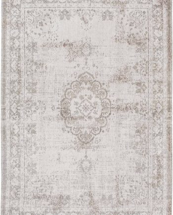 tapis Louis De Poortere LX8383 Fading World Medaillon Salt Pepper