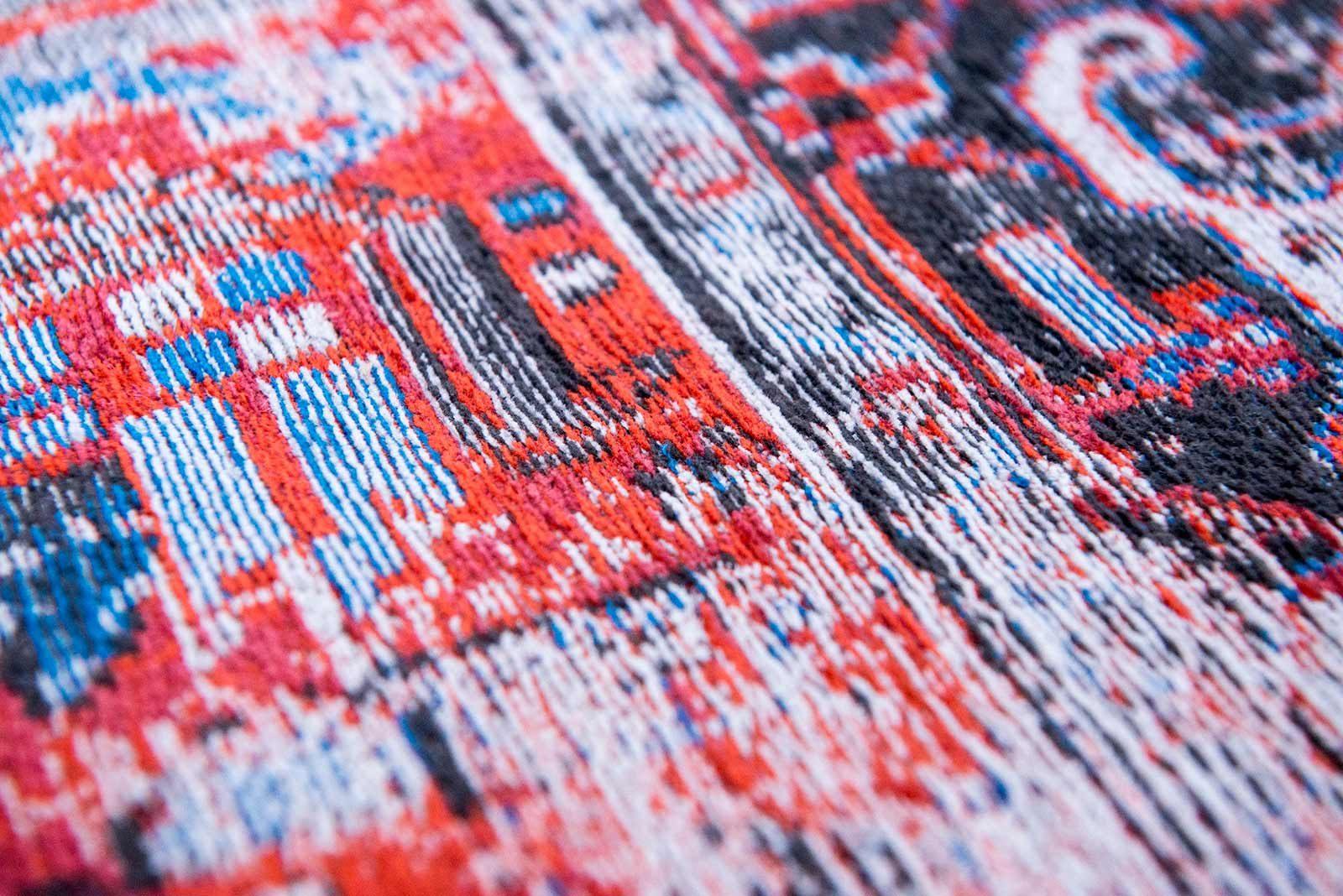 tapis Louis De Poortere LX8703 Antiquarian Antique Heriz Classic Brick zoom
