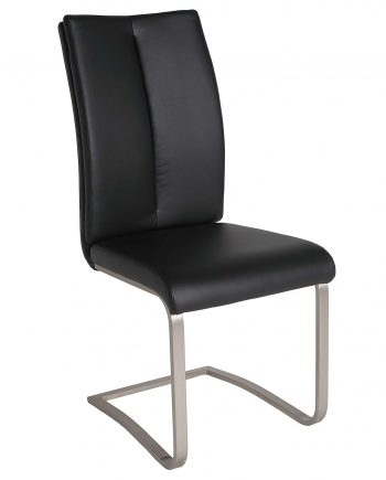 chaise Casandra Charly 581 black 1